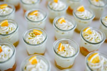 desserts at a wedding