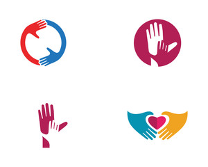 Hand Care vector icon Business