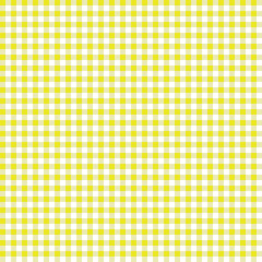 Smooth Gingham Seamless Pattern - Smooth yellow and white classic gingham texture