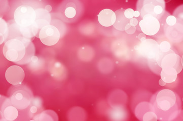 Romantic abstract background blur