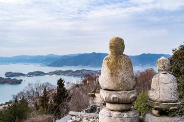 Foto op Plexiglas Asia land 白滝山からの景色