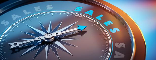 Dunkler Kompass mit Lichtspiel - Sales