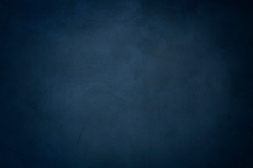 blue cement background, horizontal blank concrete wall Fototapete