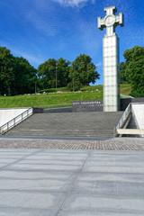 Freiheitsplatz Tallinn mit Denkmal für den Unabhängigkeitskrieg, Estland