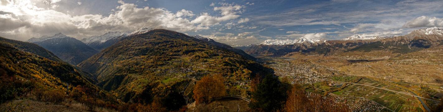 Sion, Canton du Valais, Suisse