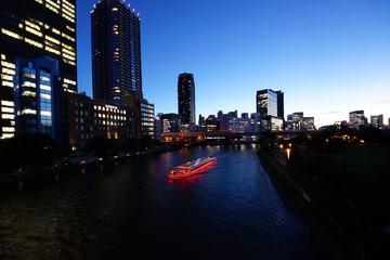 大阪中之島夕景