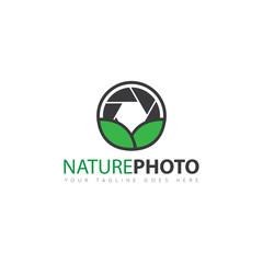 camera photography logo and icon vector design template