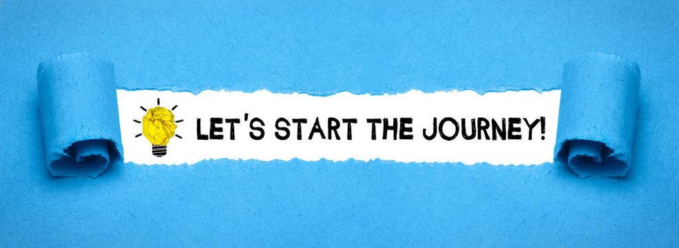 Let´s start the Journey!