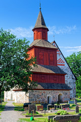 St.-Nikolaus-Kirche in Inkoo, Finnland