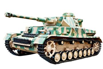 German medium tank isolated white