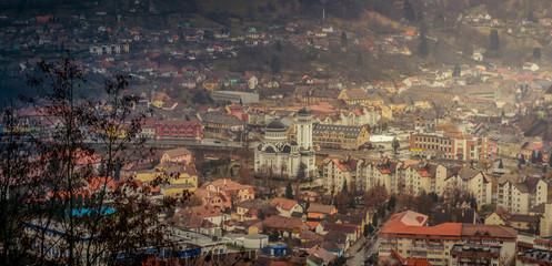 Sighisoara cityscape