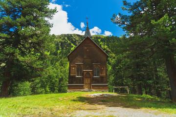 Kaunertal Gepatschhaus Kapelle