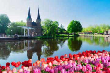 Oosrpoort gate in Delft, Netherlands