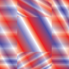 Background-Abstract Red White & Blue