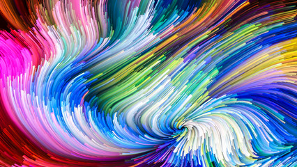 Beautiful Colorful Paint