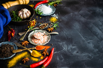 Spices as a cooking concept