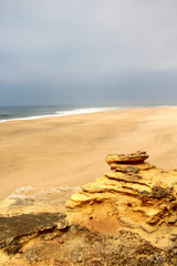 Beautiful view of Nazare, Portugal