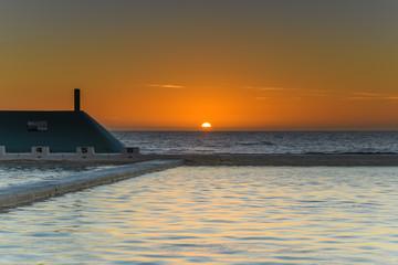 Newcastle Baths at Sunrise