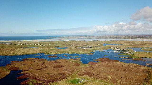 South-Uist, Blick nach Benbecula