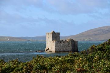 Festung Kisimul in Castlebay auf Barra