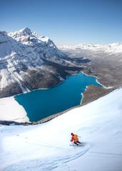 Ski Touring - Peyto Lake