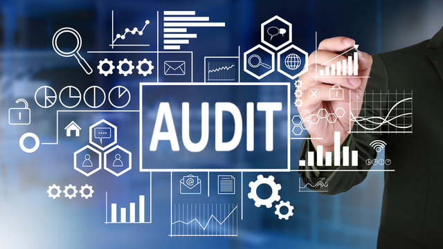 Audit in Business Concept