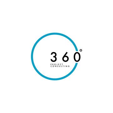 Simple 360 Degree Logo