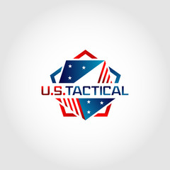 Patriot Military Tactical Logo Symbol