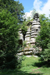 Fototapete - Rudolfstein am Schneeberg, Fichtelgebirge