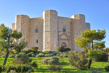 Italy, Castel del Monte, UNESCO heritage site, 13th century fortress