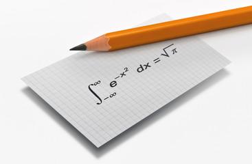 Famous mathematical equation