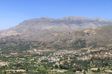 Mount Ida Massiv Ostseite auf Kreta