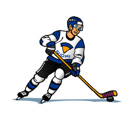 hockey player Suomi Finland