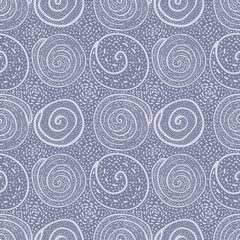 Hand drawn Doodle pattern Abstract ornament background