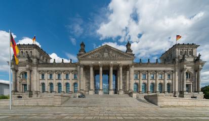 Foto op Canvas Berlijn Reichstag Berlin Reichskuppel