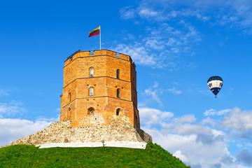 Gediminas-Turm der Oberen Burg Vilnius, Litauen