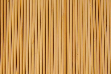 Bamboo skewers texture