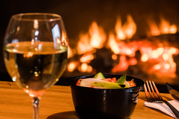Jedzenie i wino