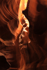 Detail's of Upper Antelope Canyon