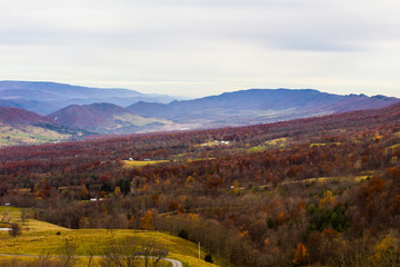 Germany Valley in Autumn, West Virginia