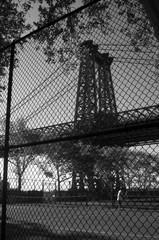 Bridge Through Fence