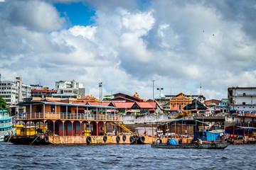Cities of Brazil - Manaus, Amazonas - City Views from Rio Negro