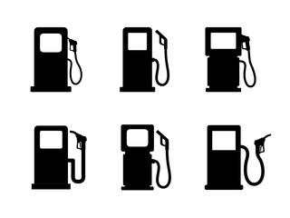 dystrybutor paliwa zestaw ikon