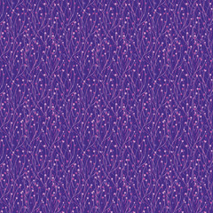 purple seamless pattern with abstract decor