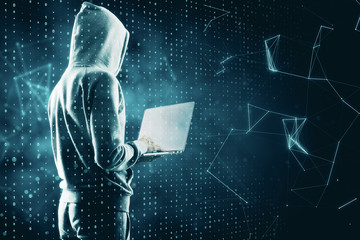 Hacking and computing concept