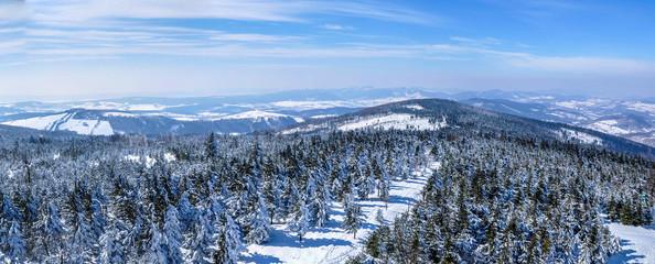 Wiela Sowa peak Sowie Mountains near Świdnica