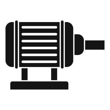Motor pump irrigation icon. Simple illustration of motor pump irrigation vector icon for web design isolated on white background