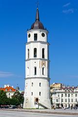 Glockenturm Kathedrale Vilnius, Litauen
