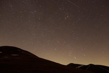 Notte stellata sul M. Nerone
