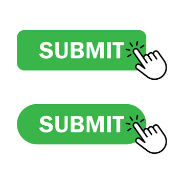 Hand cursor clicks Submit button